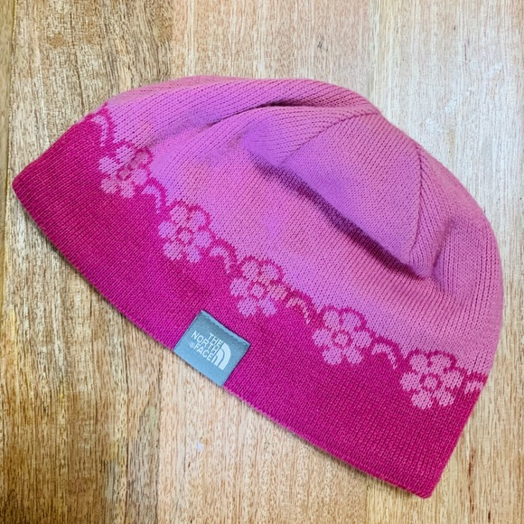 The North Face Accessories - The North Face Beanie Pink Winter Hat